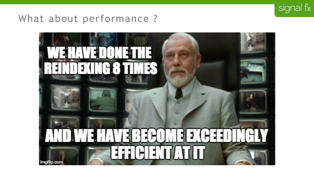 What about performance ?