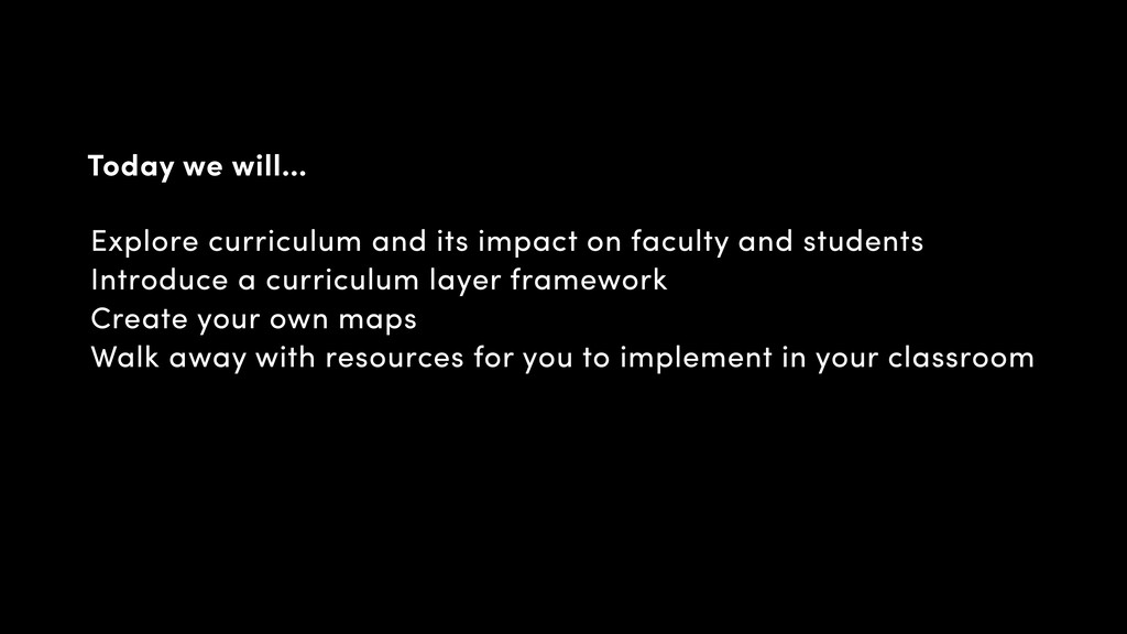Explore curriculum and its impact on faculty an...