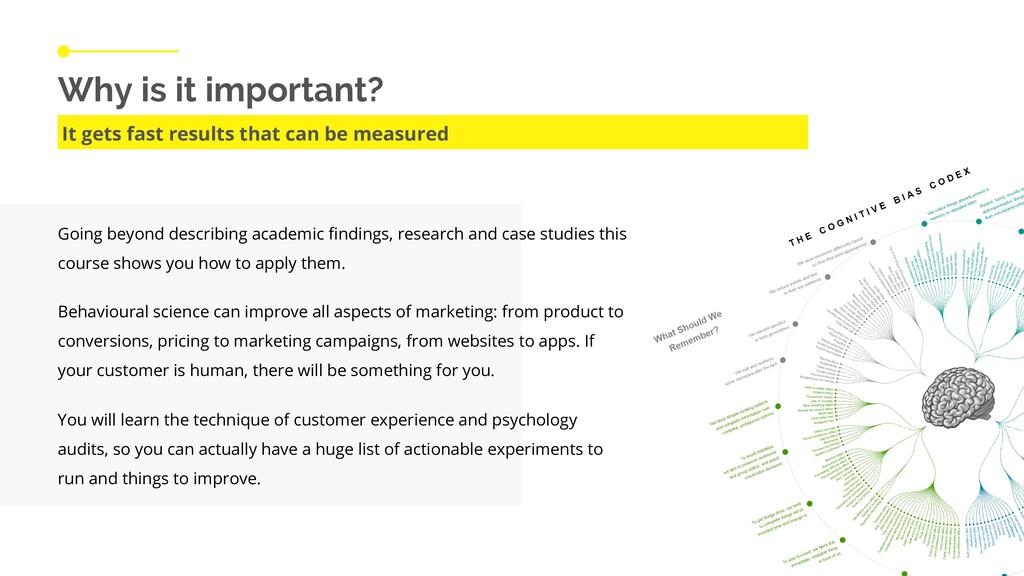 Going beyond describing academic findings, rese...