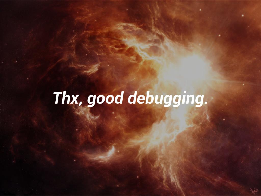 Thx, good debugging.