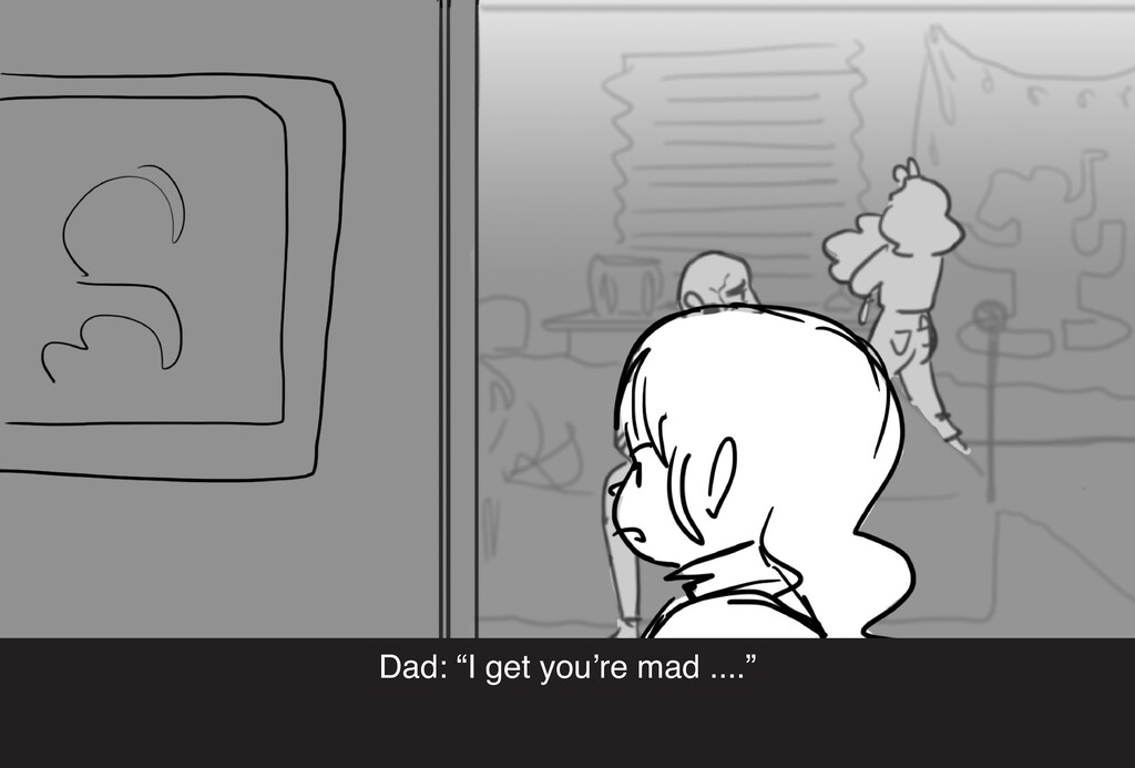 """Dad: """"I get you're mad ...."""""""