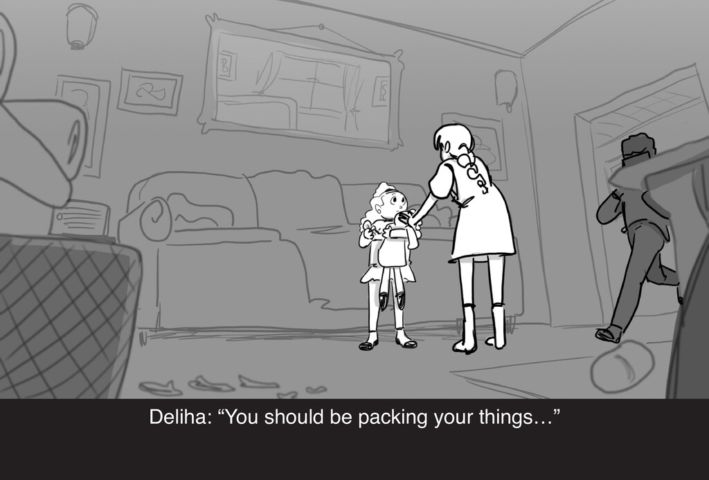 """Deliha: """"You should be packing your things…"""""""