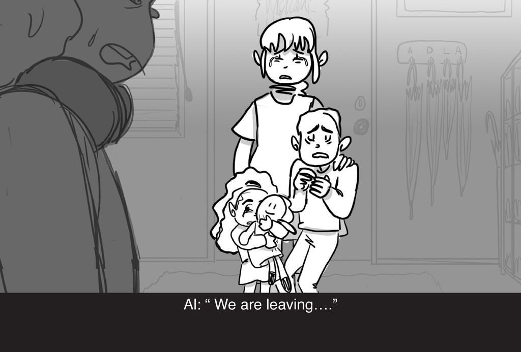 """Al: """" We are leaving…."""""""