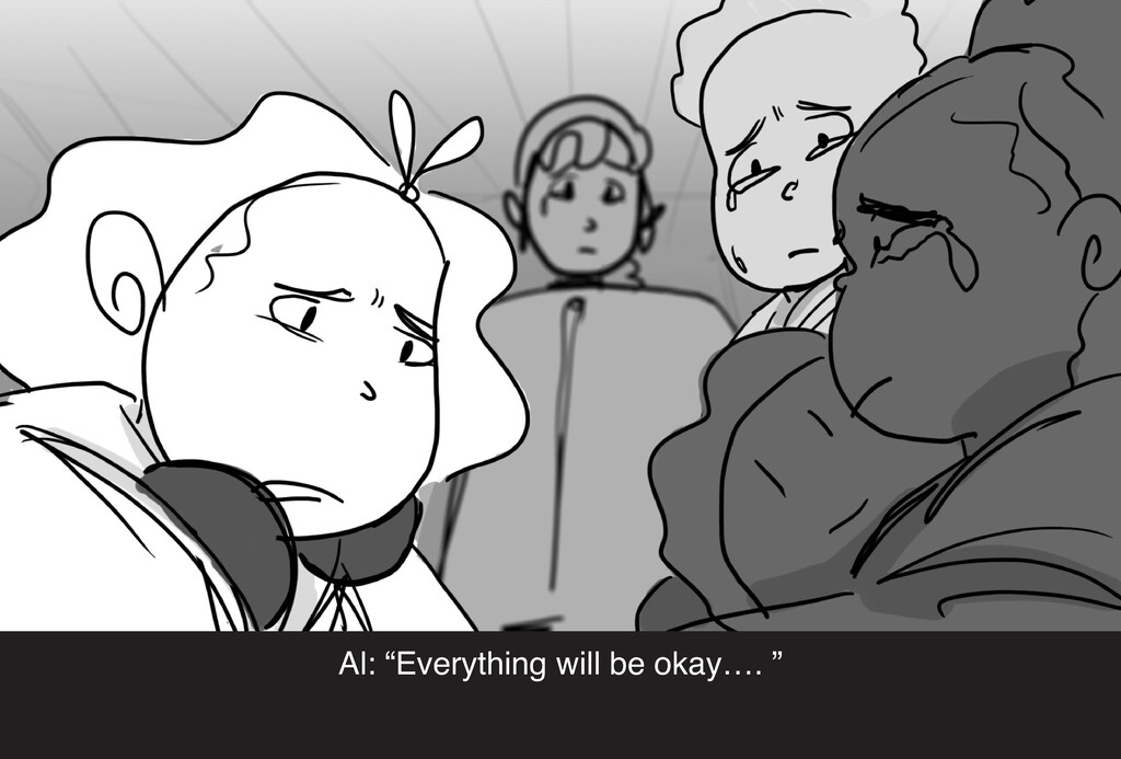 """Al: """"Everything will be okay…. """""""