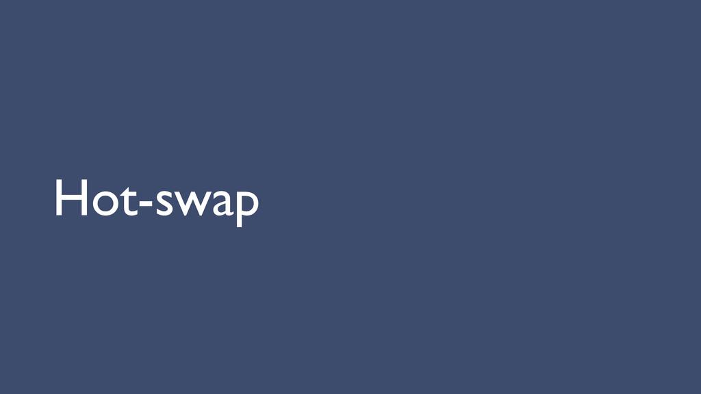 Hot-swap