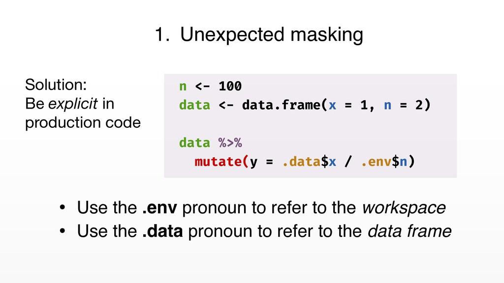 n <- 100 data <- data.frame(x = 1, n = 2) data ...