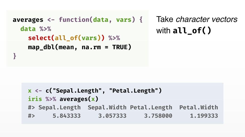"x <- c(""Sepal.Length"", ""Petal.Length"") iris %>%..."