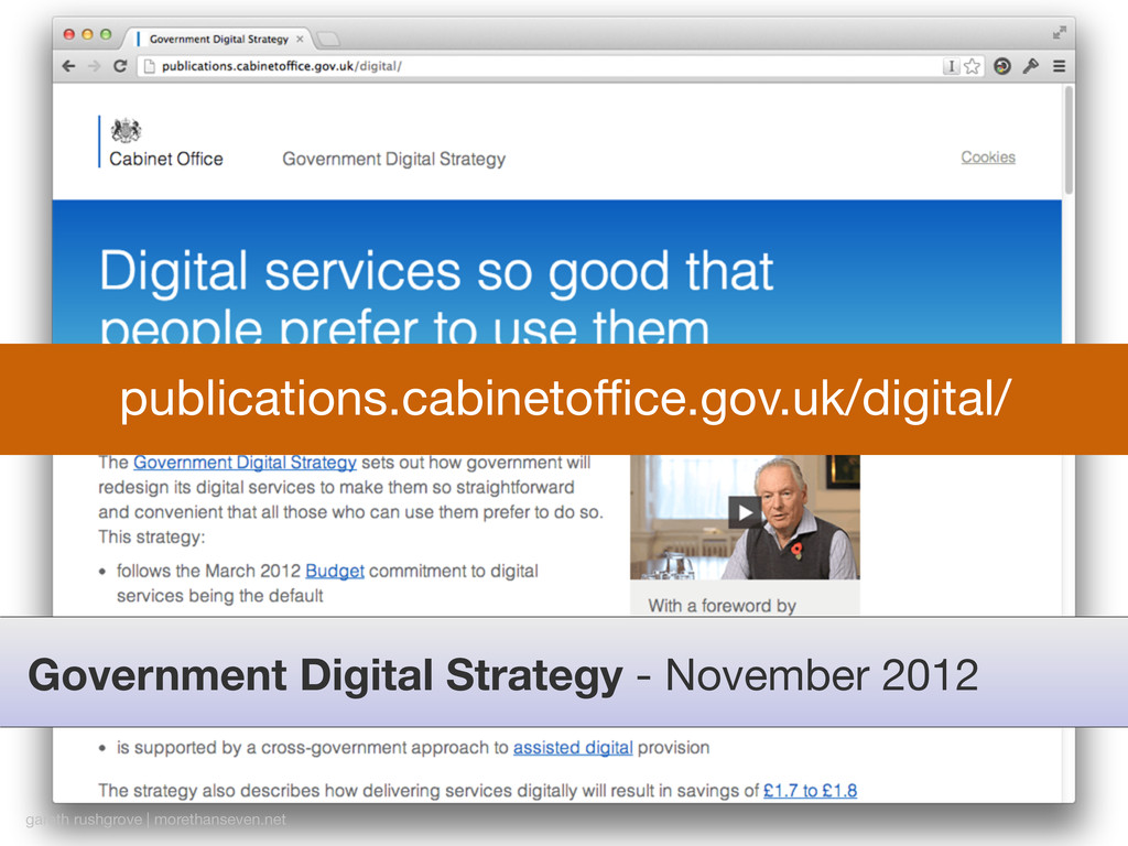 Government Digital Strategy - November 2012 gar...