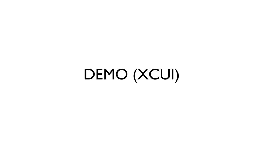 DEMO (XCUI)