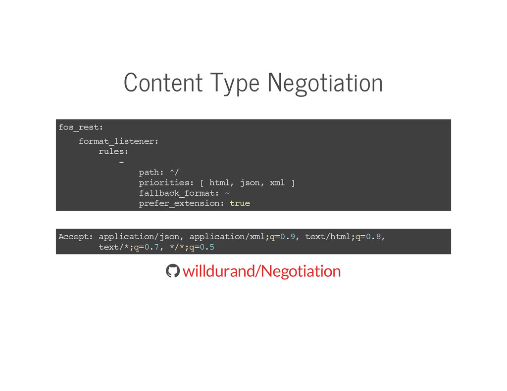 Content Type Negotiation fos_rest: format_liste...