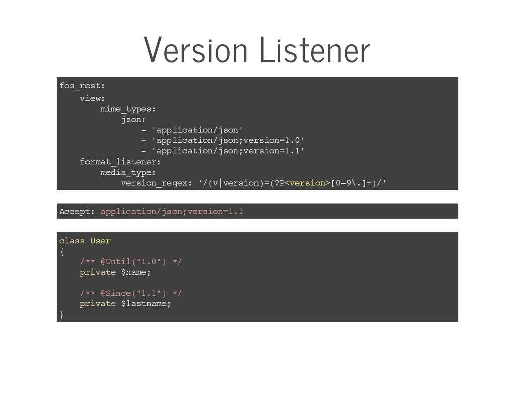 Version Listener fos_rest: view: mime_types: js...