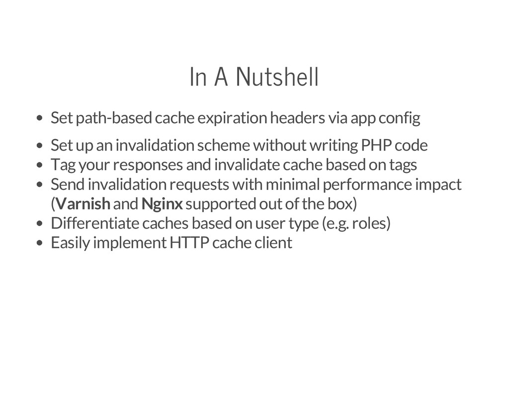 In A Nutshell Set path-based cache expiration h...