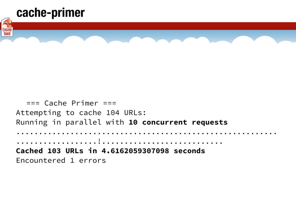 cache-primer === Cache Primer === Attempting to...