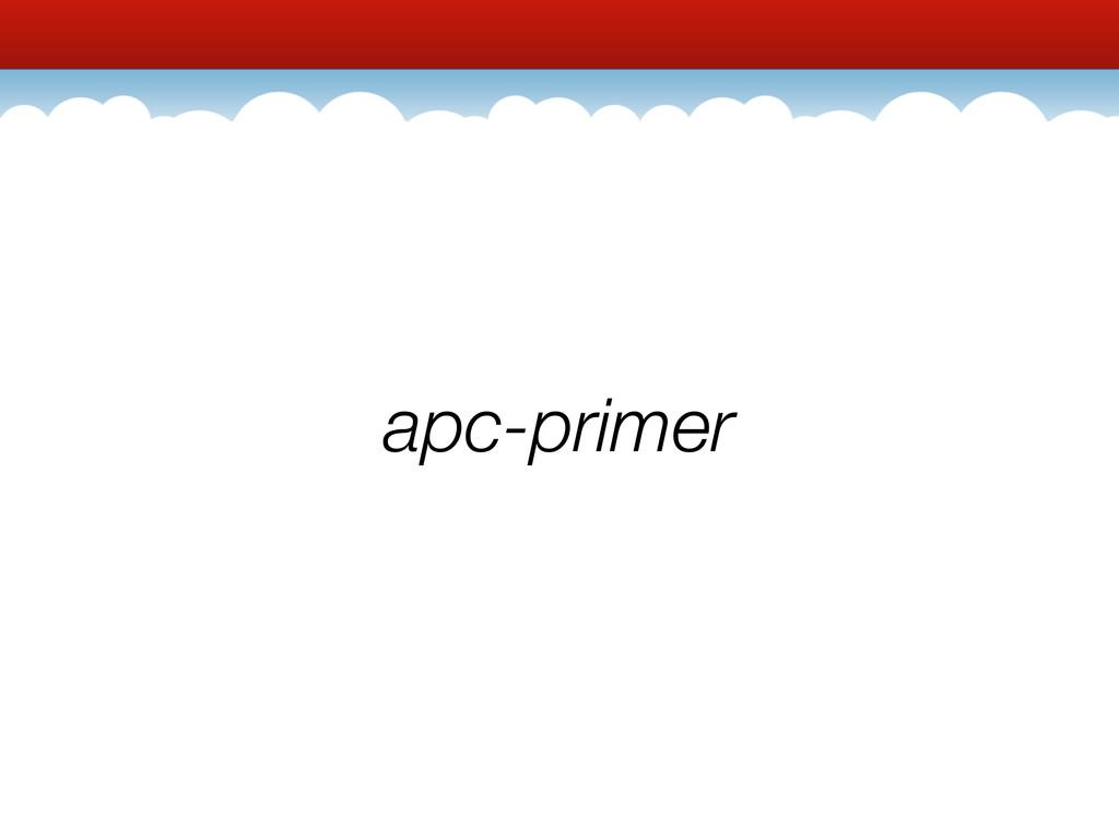 apc-primer