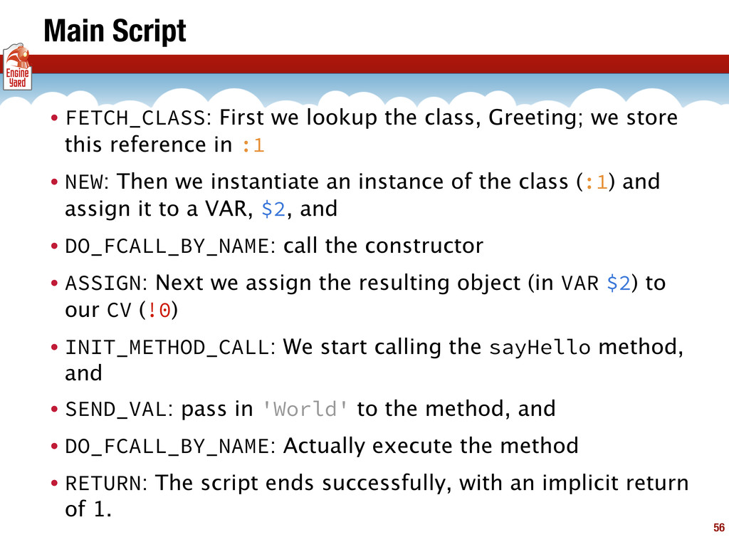 Main Script • FETCH_CLASS: First we lookup the ...