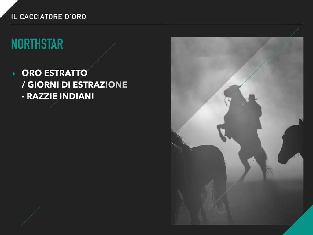 IL CACCIATORE D'ORO NORTHSTAR ▸ ORO ESTRATTO  ...