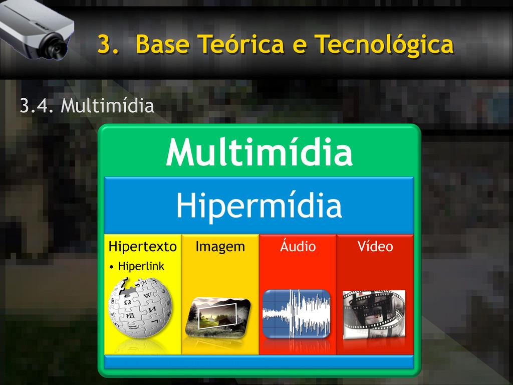 3. Base Teórica e Tecnológica 3.4. Multimídia ...