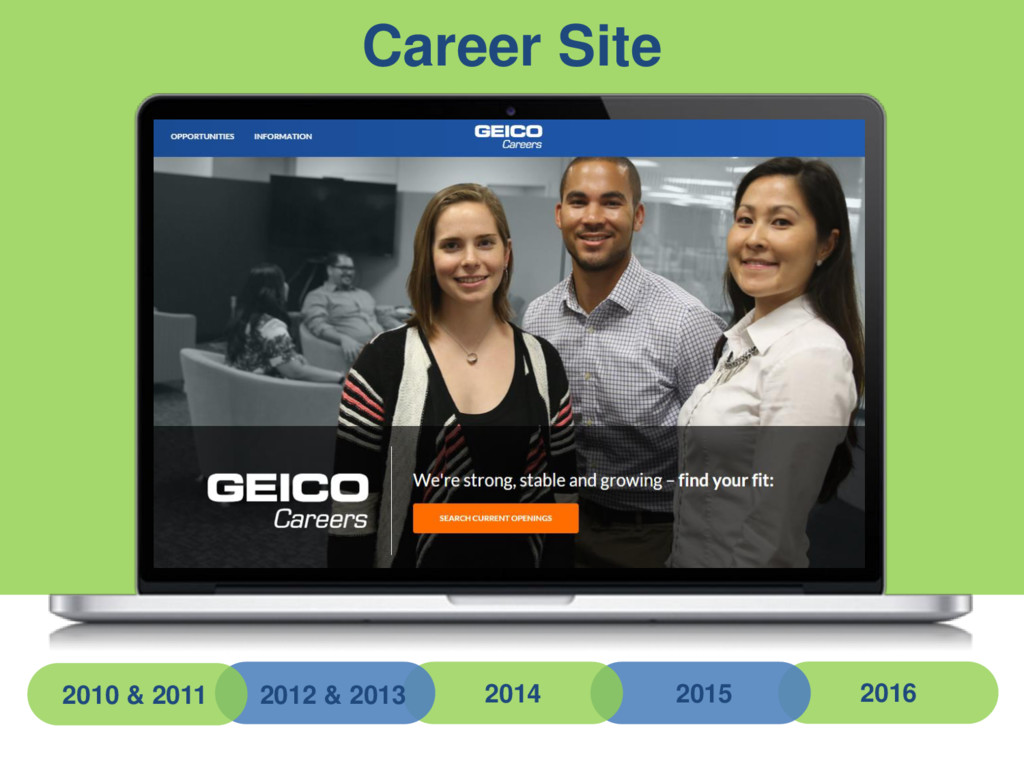 Career Site 2010 & 2011 2012 & 2013 2014 2015 2...