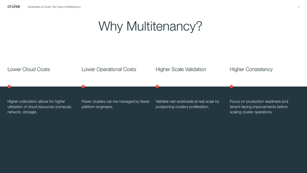 7 Why Multitenancy? Lower Cloud Costs Higher co...