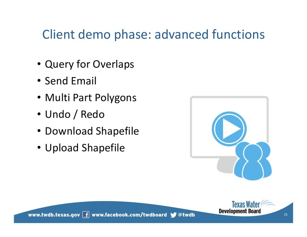 Client demo phase: advanced functions • Query f...