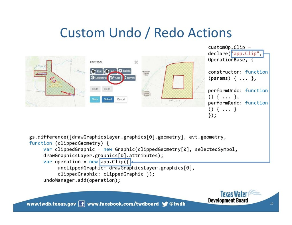 Custom Undo / Redo Actions 19 gs.difference([dr...