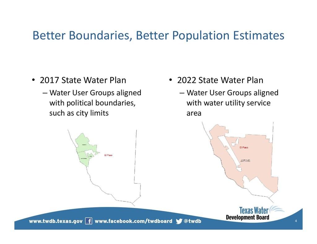 Better Boundaries, Better Population Estimates ...