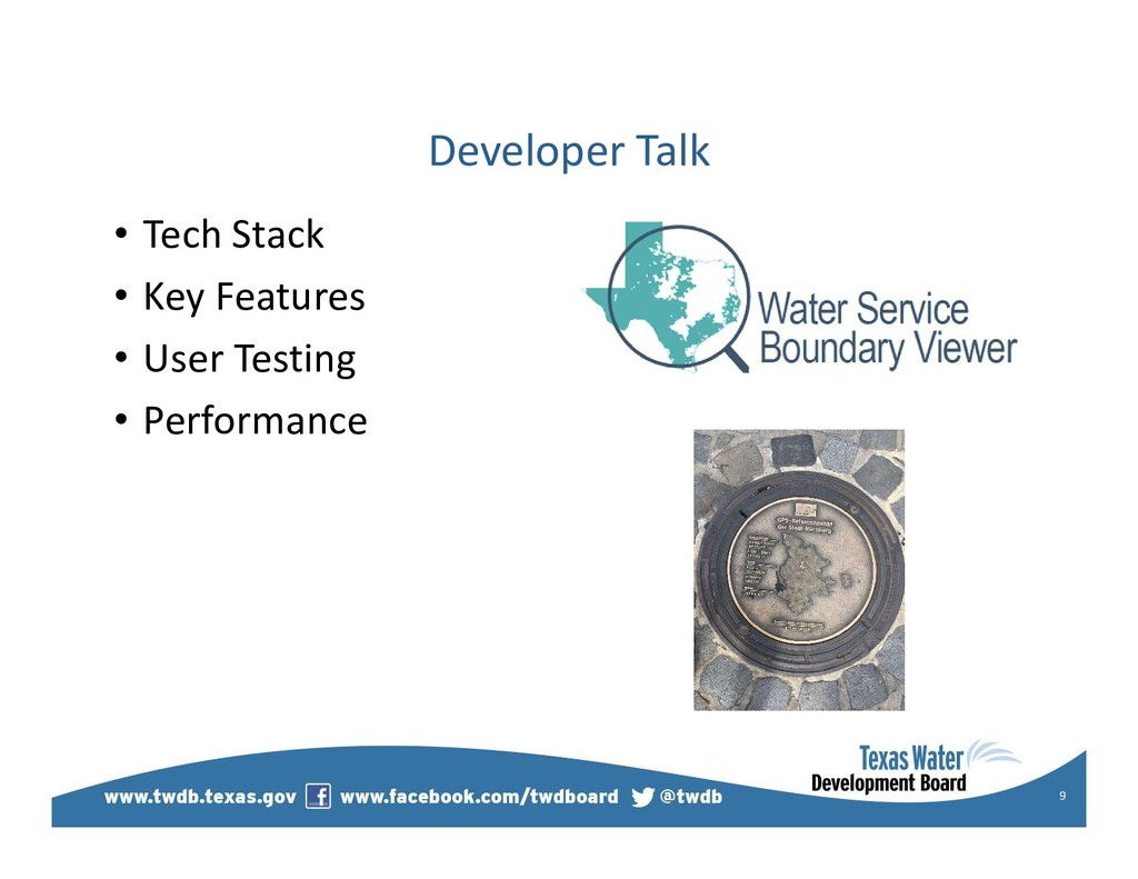 Developer Talk 9 • Tech Stack • Key Features • ...