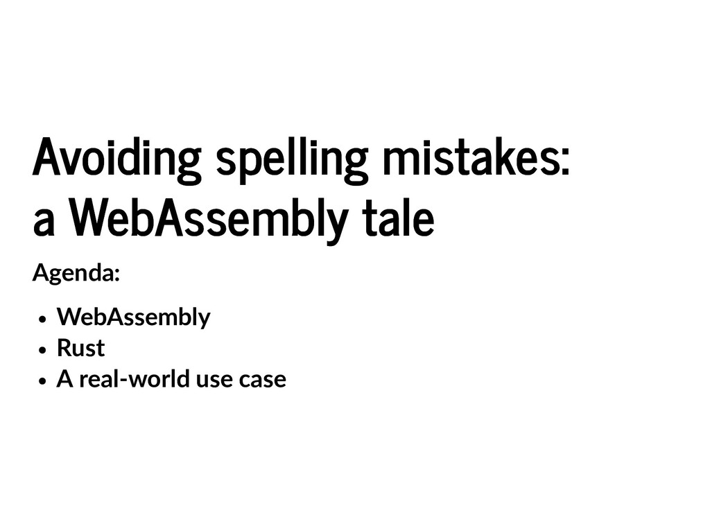 Avoiding spelling mistakes: Avoiding spelling m...