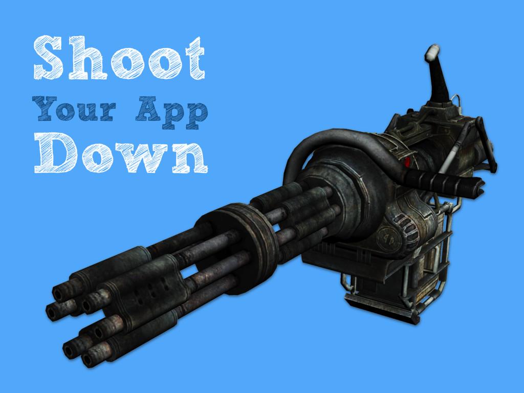 Shoot Your App Down