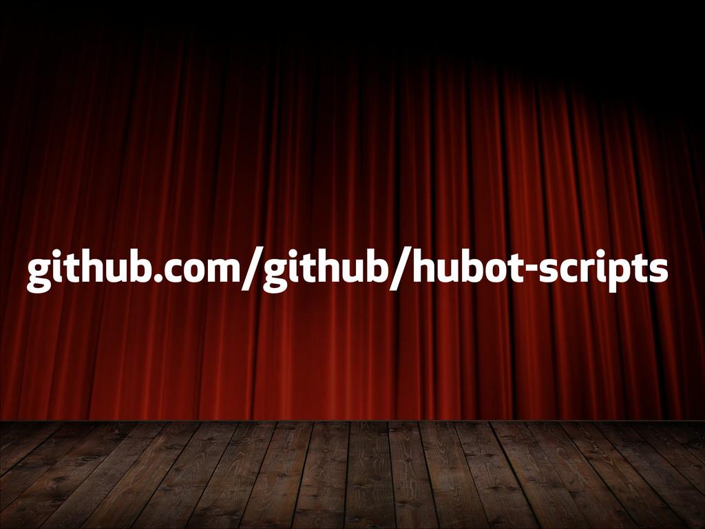 github.com/github/hubot-scripts