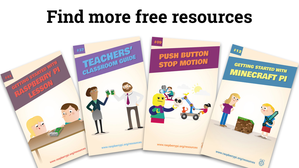 Find more free resources