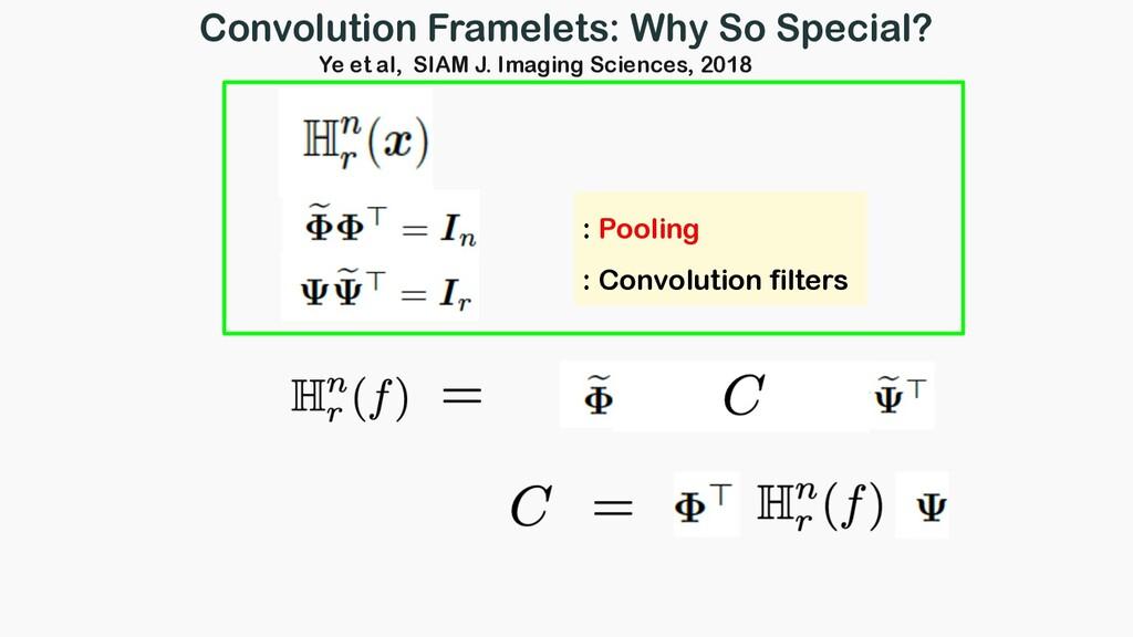 : Pooling : Convolution filters Convolution Fra...