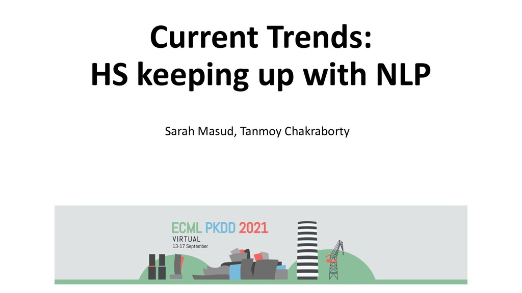 Current Trends: HS keeping up with NLP Sarah Ma...