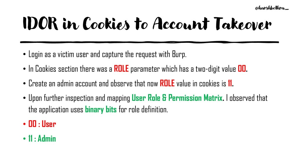 IDOR in Cookies to Account Takeover • Login as ...