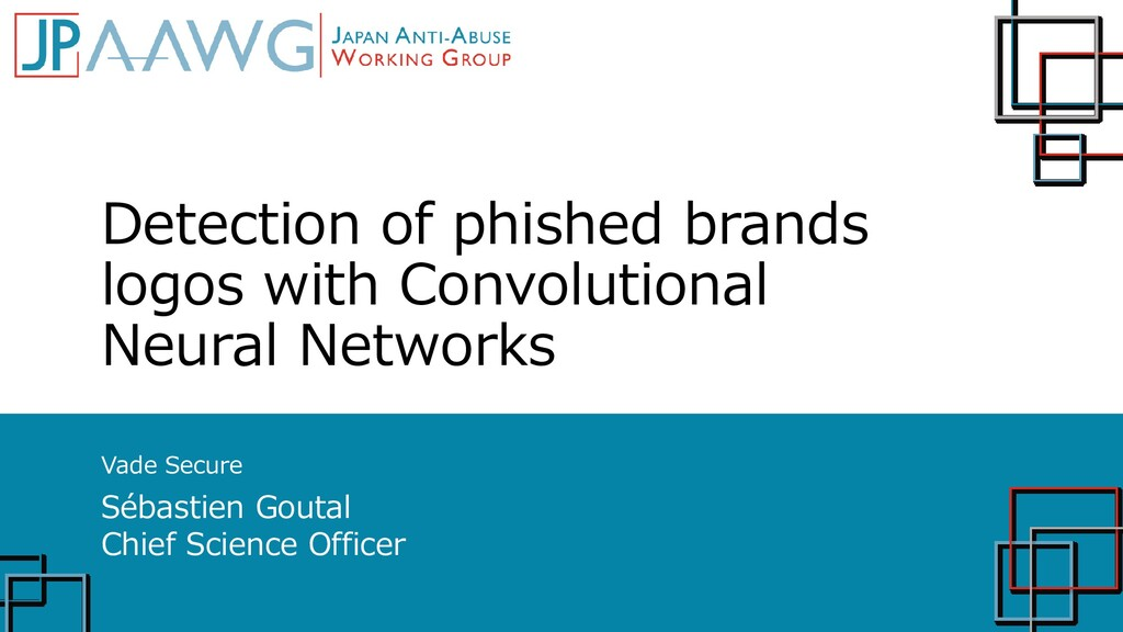 Detection of phished brands logos with Convolut...