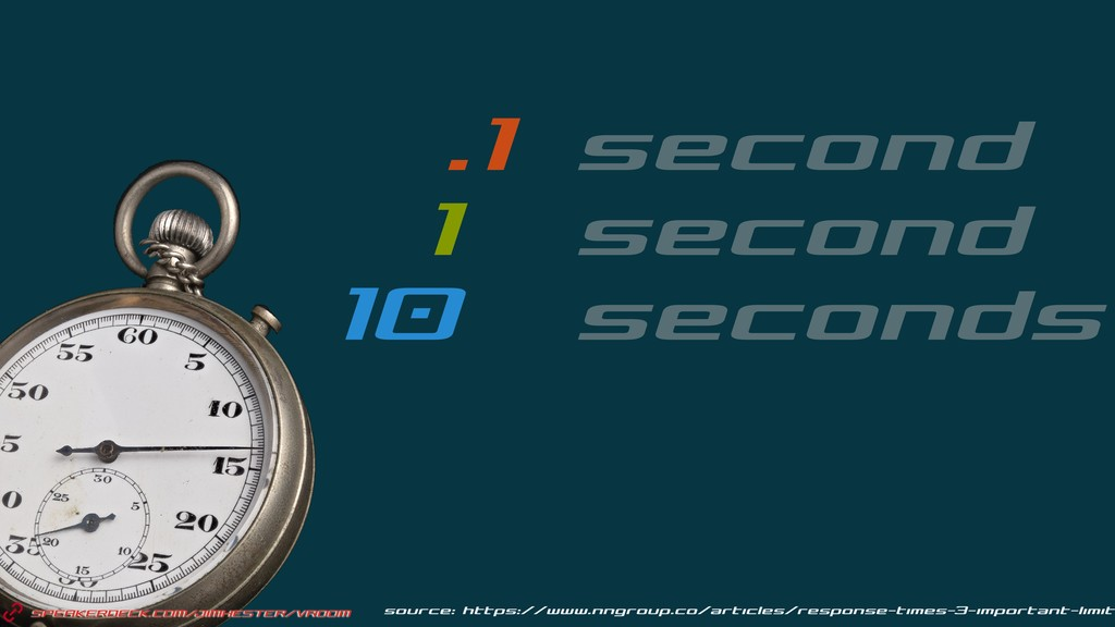 .1 second 1 second 10 seconds source: https://w...
