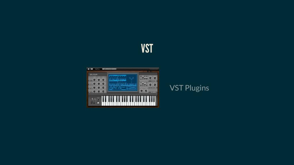 VST VST Plugins