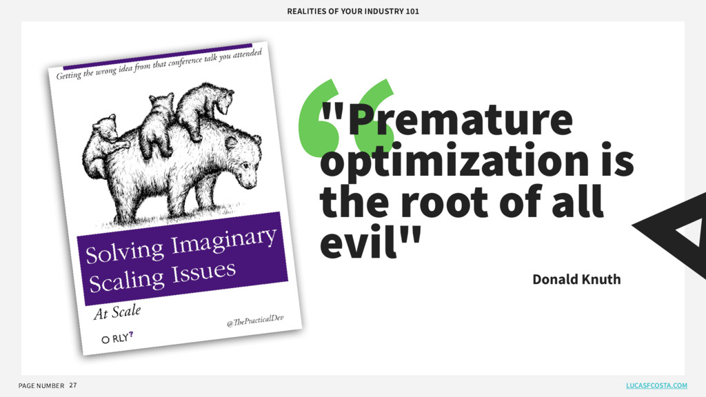 PAGE NUMBER LUCASFCOSTA.COM REALITIES OF YOUR I...