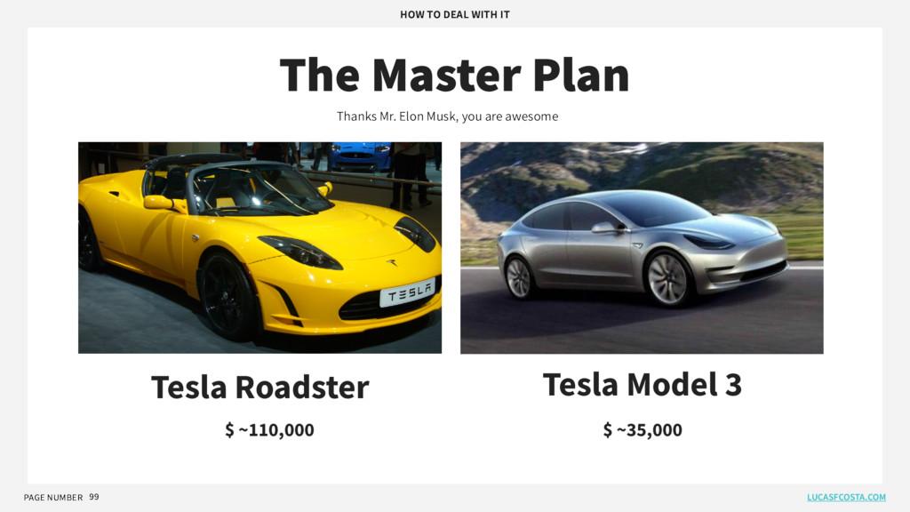 PAGE NUMBER 99 The Master Plan Tesla Roadster T...