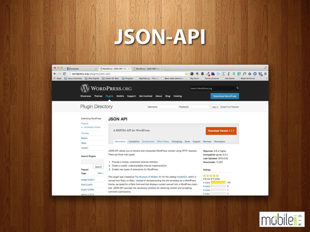 JSON-API