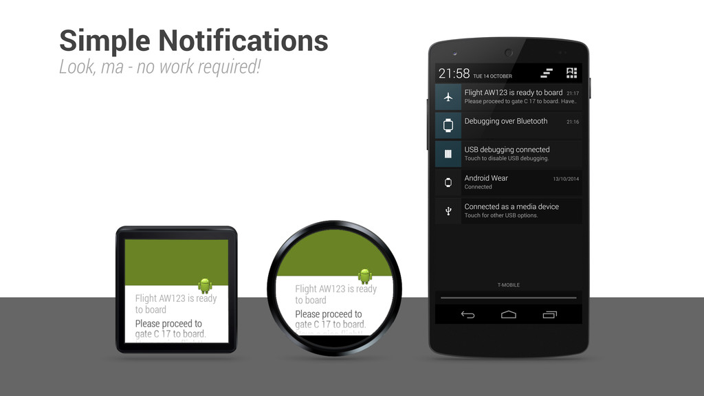 Simple Notifications Look, ma - no work require...