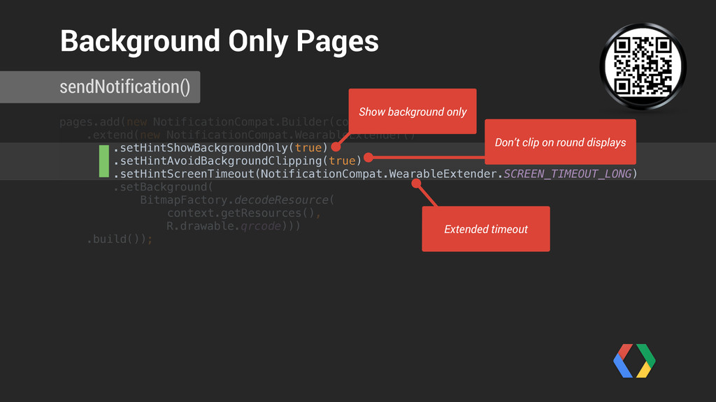 pages.add(new NotificationCompat.Builder(contex...