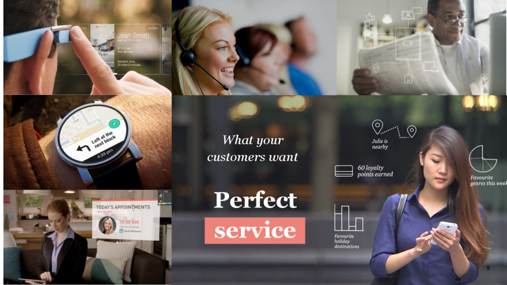 8 Perfect service What your customers want