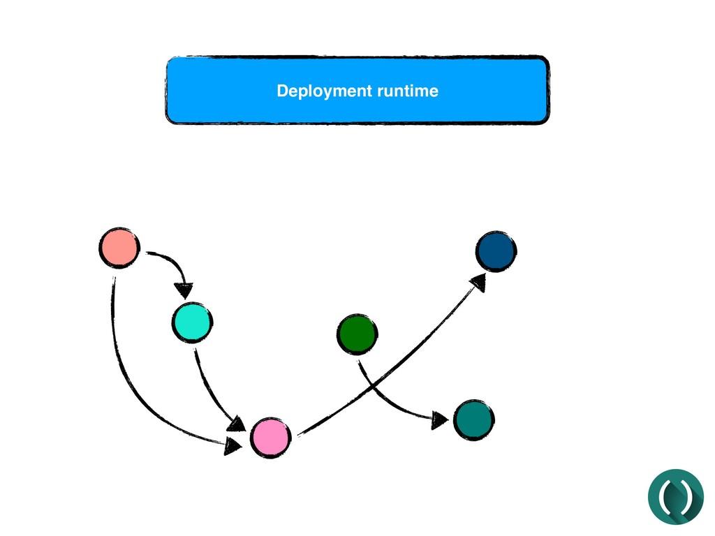 Deployment runtime