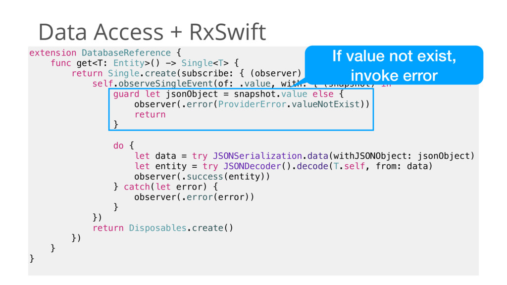 Data Access + RxSwift extension DatabaseReferen...