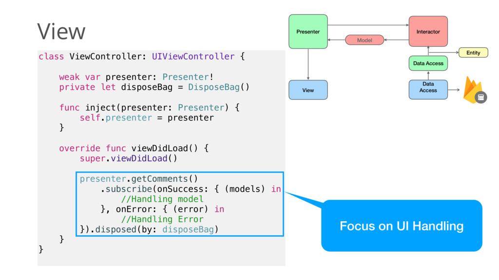 View class ViewController: UIViewController { w...