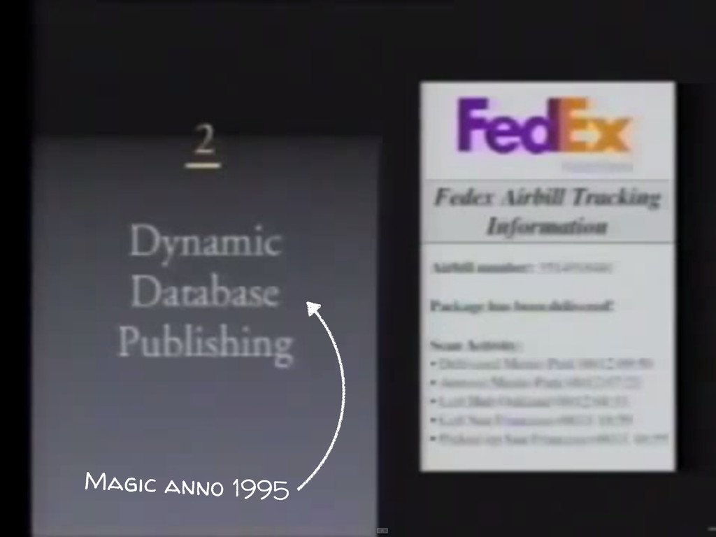Magic anno 1995