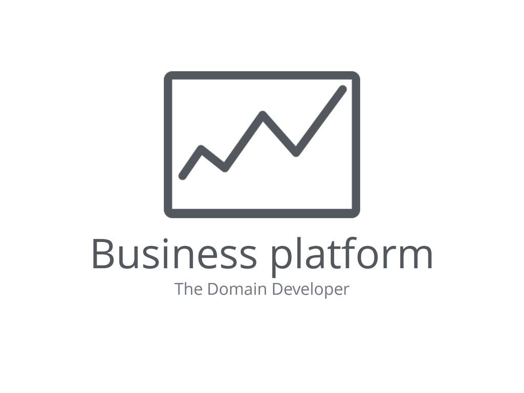 Business platform The Domain Developer