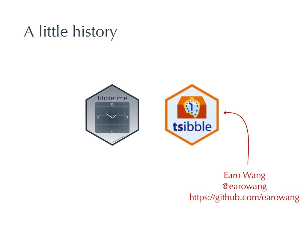 A little history Earo Wang @earowang https://gi...