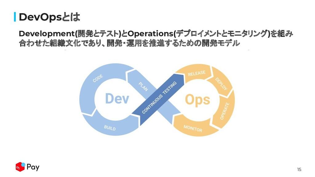 15 Development(開発とテスト)とOperations(デプロイメントとモニタリン...